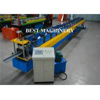 China Aluminum Galvanized PVC Roofing Gutter Roll Forming Machine Hall Round wholesale