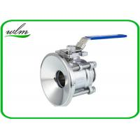 "China Special design Tank Bottom Ball Valve Port Diameter 1/2"" - 4"" , Manual Type wholesale"