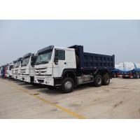 Buy cheap SINOTRUK HOWO 6X4 Dump Truck 18m³   Installed With HYVA Brand  Lifting With High Lifting Capacity from wholesalers