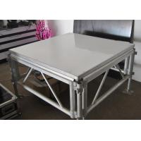 Buy cheap Durable 4x4 Ft Aluminum Stage Platform 100-240 Voltage With LED Light from wholesalers