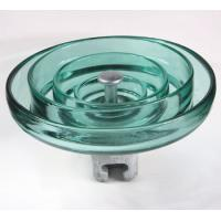China Toughenend Electric Glass Insulators 160KN 210KN 240KN For Power Transmission Line on sale