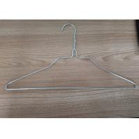 China 18 inch 2.0mm galvanized iron wire shirt hanger for laundry one-time use wholesale