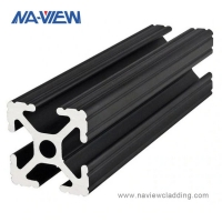 Buy cheap 10X10 1X1 10 Series 10mm 1010 Aluminum Extrusion Profile from wholesalers