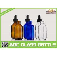 China 50ml Dropper Bottle,Boston Round Glass Dropper Bottles wholesale