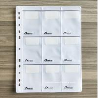 China EVA Display Sheet with 4 / 6 / 8 / 9 /12 Pockets Ideal for Buckles, Buttons, Nylon Zippers Display wholesale