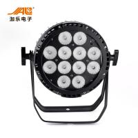 China 12PCS RGBWA + UV Flat Battery LED Par Light Sound Active Control Mode CRI 85 wholesale