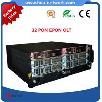 Buy cheap 32 PON EPON OLT /32 PON OLT EPON/32 GEPON OLT/32 EPON Port OLT/Compatible with many ONUs product
