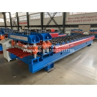 China High Grade Metal Glazed Roof Tile Roll Forming Machine Width 1250mm wholesale