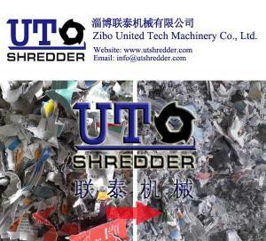 China hot sales waste coated paper shredder/ cellular cardboard shredder/ whiteboard paper shredder/ single shaft shredder on sale