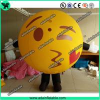 China Lovely Inflatable Kiss Ball Valentine's Day Inflatable Costume Parade Inflatable Cartoon wholesale