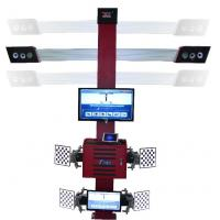 Buy cheap Truck Tire Two Monitors Tire Alignment Machine , 3D Garage Equipment Wheel from wholesalers