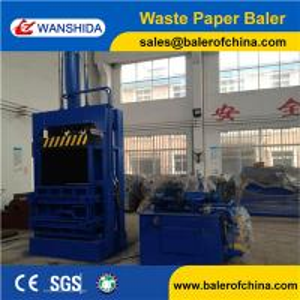 China China Vertical Waste Paper Baler wholesale