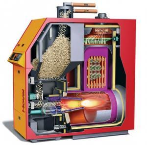 China GLK-Boiler D Series Biomass Wood Pellet Boiler on sale