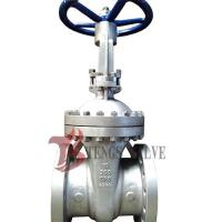 China Cast Stainless Steel Gate Valve A351 CF8 SS304 300LB With Bolted Bonnet Design wholesale