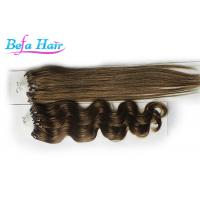 """China Beauty White Girl 15"""" 16"""" Real Micro Loop Ring Hair Extensions  8# 10# 16# wholesale"""