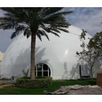 China Modular Frame Geodesic Dome Shelter 8m Diameter Party Ceremony Dome Shaped Tent wholesale