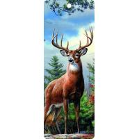 Buy cheap Cute Reindeer 5.6x15.3cm Size 3D Lenticular Bookmark With Colorful Tassel from wholesalers