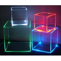 China Transparent Acrylic Storage Boxes For Led Lights, Acrylic Led Cube wholesale