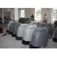 China Electronic Walk Behind Automatic Scrubber Floor Machine With 17 Inch Single Brush wholesale