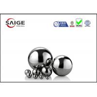 China Solid large chrome steel sphere G10 AISI 52100 1/2'' inch diameter wholesale