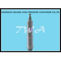 Buy cheap Empty Medical Steel Gas Cylinder / Oxygen Tank Portable from wholesalers