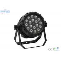China LED18pcs*10W RGBW 4in1 Waterproof PAR Light for events / 5in1 / 6in1 color / 8CH wholesale