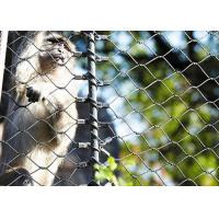 China 316 Stainless Steel animal enclosure mesh For Monkey wholesale