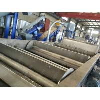 Soft PP PE Plastic Crushing Washing Recycling Machine Line With Friction Washer