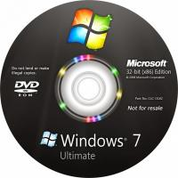 Quality Full Version Windows 7 Ultimate OEM Key 64 Bit Operating System DVD / CD for sale