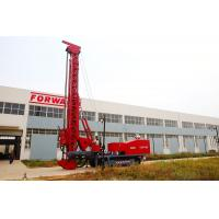 China Red 243Kw Modified Multifunction Top Drive Drill Rig , Rotate Angle 0º- 90 º wholesale