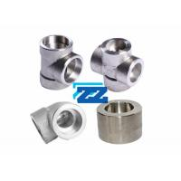 China Forged Duplex Steel Pipe Fittings , ASTM A182 F55 Weld On Pipe Fittings wholesale