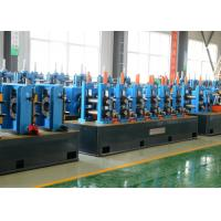 China High Speed Steel Pipe Production Line For Carbon Furniture Tubes 21 - 63mm Pipe Dia wholesale