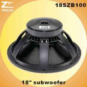 China 18SZB100 Subwoofer Driver (18SZB100) wholesale