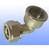 China compression brass fitting female elbow for PEX-AL-PEX wholesale