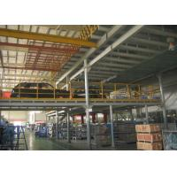 China Design warehouse storage steel mezzanine platform wholesale