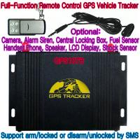 China GPS107B All-In-One AVL GPS Vehicle Tracker W/ Photo Snapshot, Remote-Control & 2-Way talk wholesale