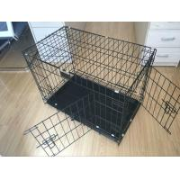 China 24, 30, 36, 42, 48 metal wire dog crate, dog cage, dog kennel(Whatsapp +86 13331359638) wholesale