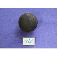 Quality Customized Wear Resistant Steel Balls For Ball Mill , Grinding Balls for Mining Dia 100mm for sale