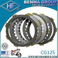China HF Motorcycle Clutch Plate, Motorcycle Clutch Disc CG125 wholesale