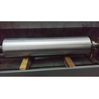 China Non - Ferrous Metal / Leatheroid / Leather Embossing Rolls , Knurled Rollers wholesale