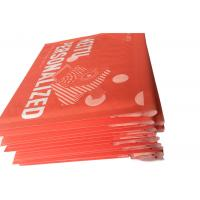 Red Custom Printed Kraft Bubble Mailer , Mailing Bubble  Envelopes