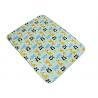 China Comfortable Baby Swaddle Blankets With Panda Giraffe Rhino Pattern wholesale