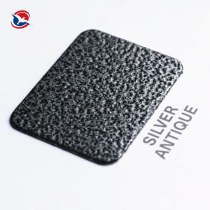 China Thermosetting Electrostatic Spray Crackle Epoxy Polyester Powder Coating Metallic Effect wholesale
