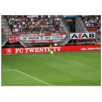 China Perimeter Advertising Stadium LED Display , P20 Full colors Large Curved Monitor  Wide View wholesale