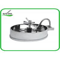 Quality 304 316L Stainless Steel Manhole Cover Sanitary Elliptical Shape For Hygienic for sale