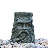 China Magnesia Statue Water Fountains For Garden , Large Outdoor Fountains wholesale