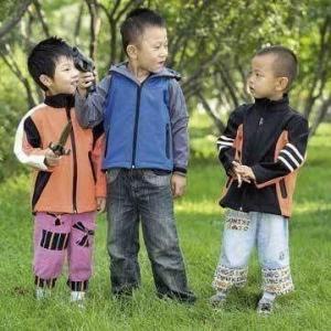 China Children's jacket, softshell style wholesale