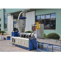 China Low Noise Plastic Recycling Equipment Power Saving Soft Material 90-110 Kw wholesale
