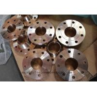 China Copper-Nickel Flanges, ASTM B151 Uns C70600  C71500, Cu-Ni 90/10 Flange SOFF 18'' 150# wholesale