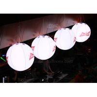 China Customized Branded Printed Inflatable Helium Balloons With Lights Inside wholesale